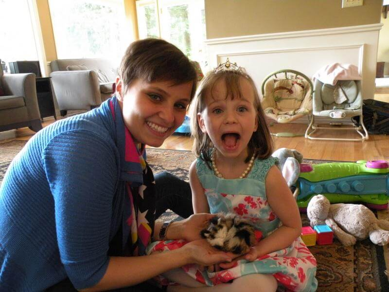 How One Woman Learned to Face Cancer From Her 3-Year-Old Hospital Roommate