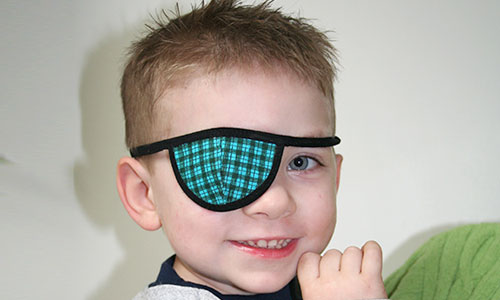 prosthetic eye children