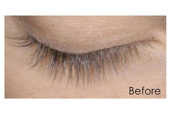 eyelash enhancers before
