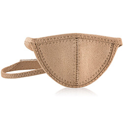 tan classic eye patch