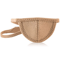 mini tan eye patch
