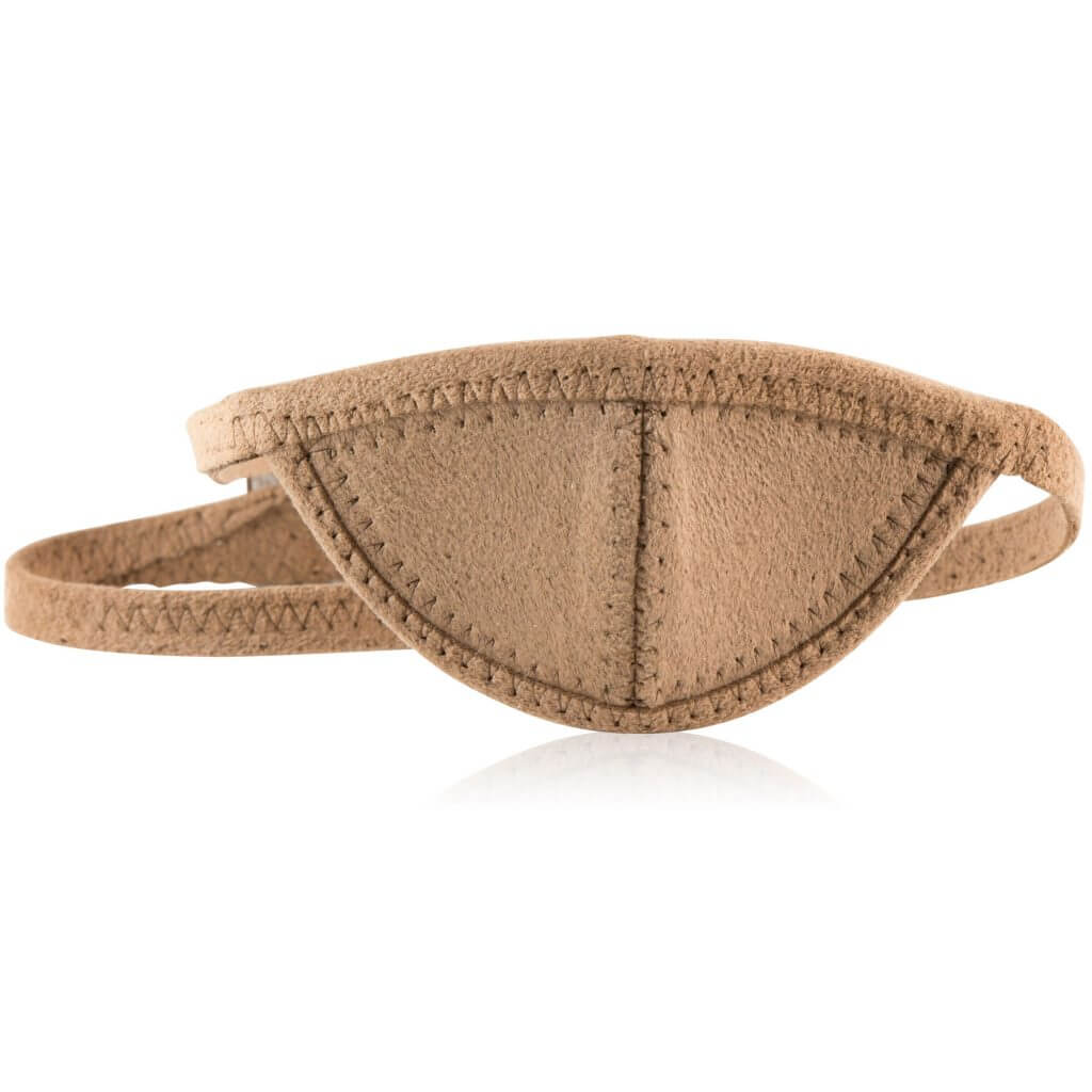tan slim eye patch